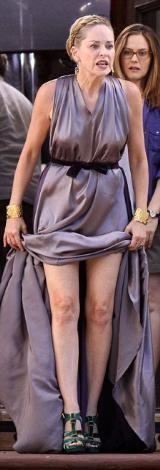 Sharon Stone'den seksi kareler.. - 4