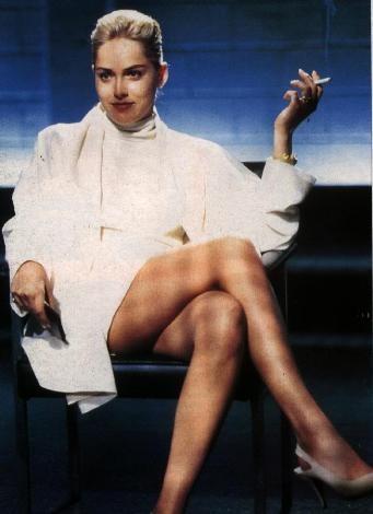 Sharon Stone'den seksi kareler.. - 15