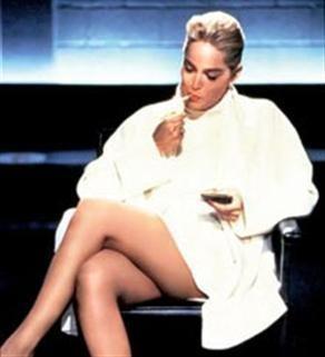 Sharon Stone'den seksi kareler.. - 17