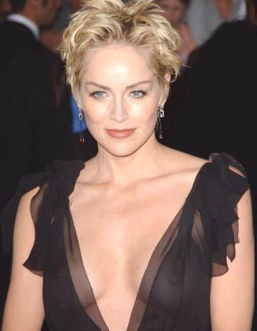 Sharon Stone'den seksi kareler.. - 26