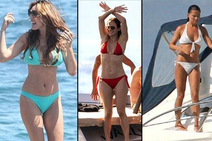 """BİKİNİ EN ÇOK ONLARA YAKIŞIYOR  İngiliz manken ve oyuncu Kelly Brook yine """"en iyi bikini vücudu"""" seçildi. Listenin ikinci sırasında Jennifer Lopez, üçüncü sırada da İngiltere Prensi William ile evlenen Cambridge Düşesi Kate Middleton'un kardeşi Pippa Middleton var."""
