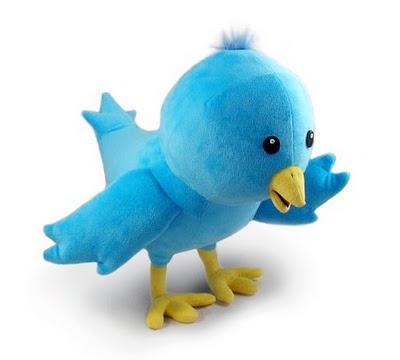 Peluş Twitter yastığı