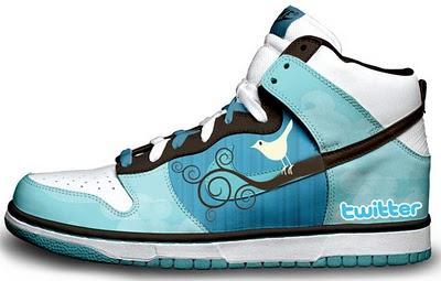 Twitter spor ayakkabısı