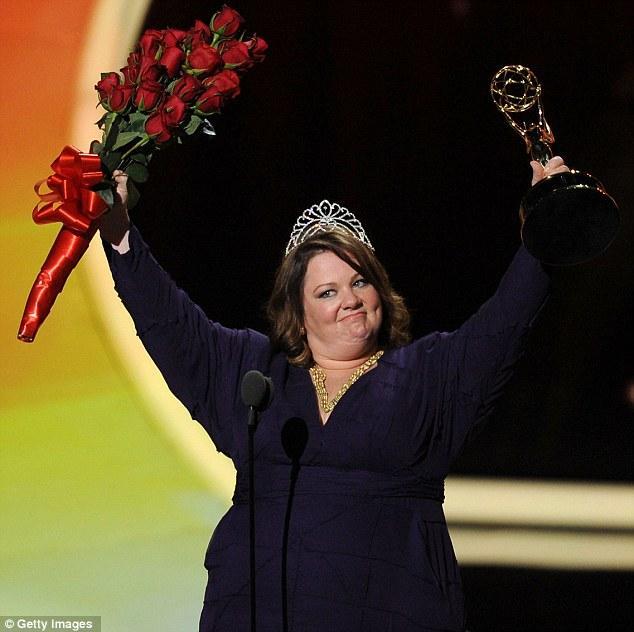 Komedi dizilerinin ve filmlerinin sevilen oyuncusu Melissa McCarthy.