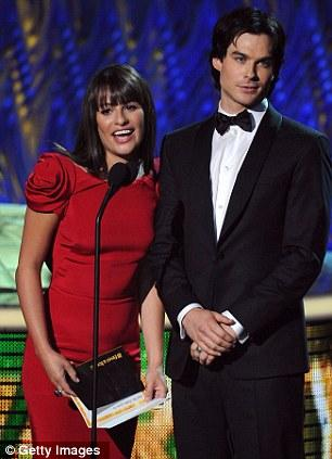 Lea Michelle ve Ian Someholder