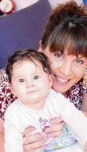 Sevinç Erbulak da bir kız çocuğu annesi. Onun kızının adı Zeynep Kavin.