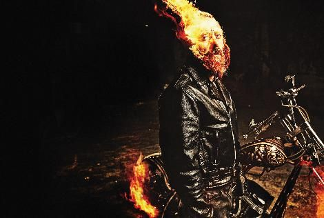 """Murad Küçük """"Ghost Rider"""" oldu."""