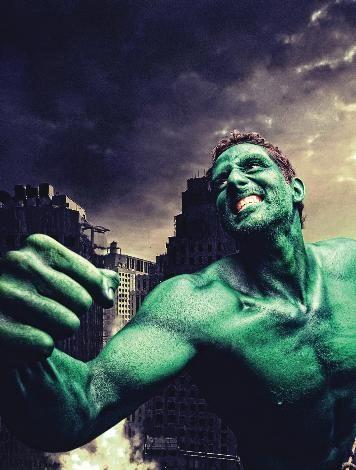 "Derya Büyükuncu ""Hulk"" oldu."