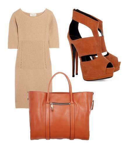 Elbise: Claire Tough Ayakkabı: Giuseppe Zanotti  Çanta: Chloé