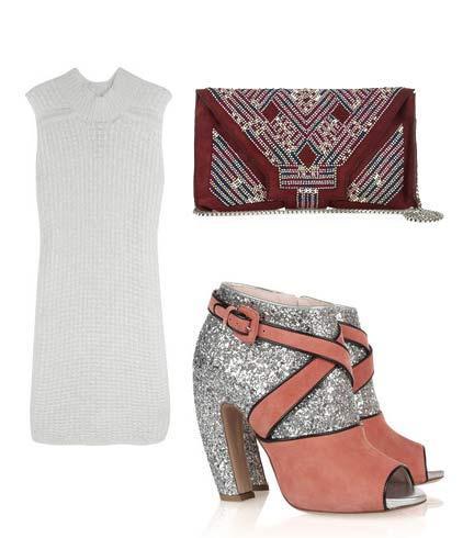 Elbise: Rick Owens Ayakkabı: Miu Miu Çanta: Isabel Marant
