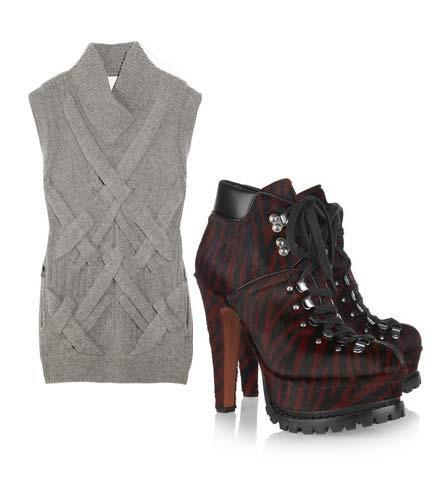 Elbise: 3.1 Philip Lim Ayakkabı: Alaia