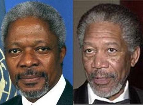 Kofi Annan - Morgan Freeman