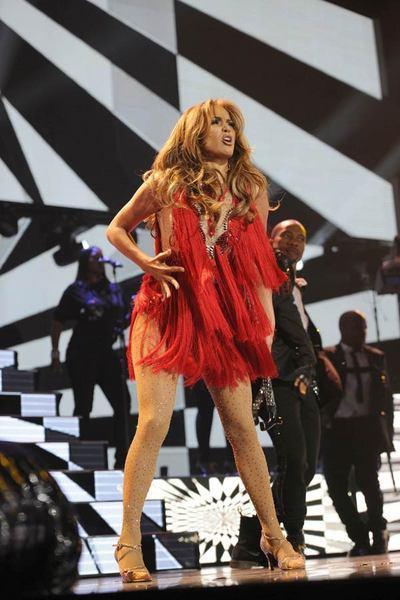 Jennifer Lopez Las Vegas'ı salladı - 16