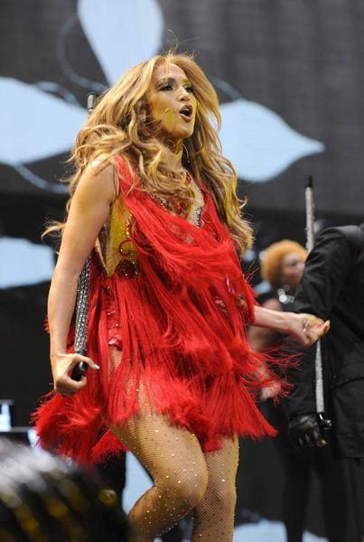 Jennifer Lopez Las Vegas'ı salladı - 18