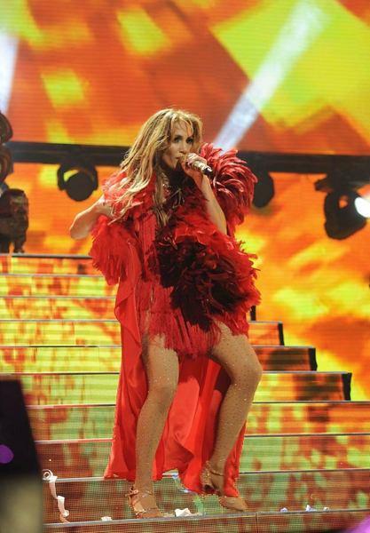 Jennifer Lopez Las Vegas'ı salladı - 20