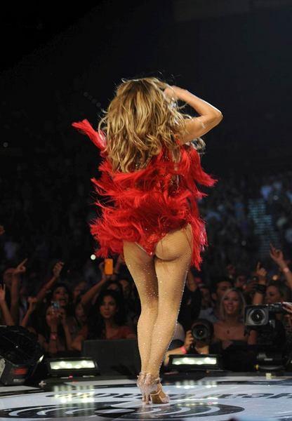 Jennifer Lopez Las Vegas'ı salladı - 21