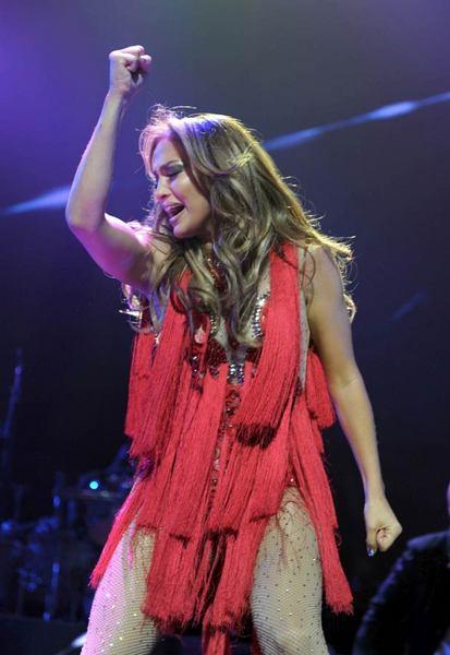 Jennifer Lopez Las Vegas'ı salladı - 25