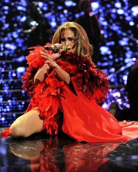 Jennifer Lopez Las Vegas'ı salladı - 26