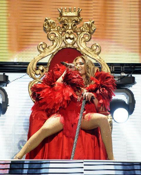 Jennifer Lopez Las Vegas'ı salladı - 27