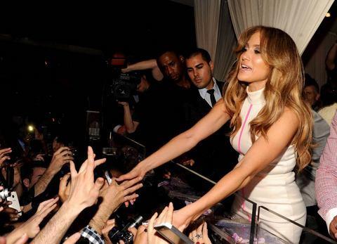 Jennifer Lopez Las Vegas'ı salladı - 29
