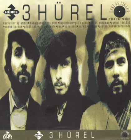 ÜÇ HÜREL   Onur, Haldun ve Feridun Hürel, 1970 yılında o dönemde çok yaygın olan Anadolu rock tarzında müzik yapan bu grubu kurdu.