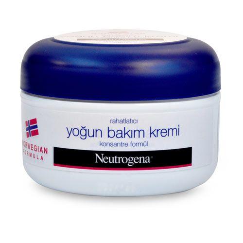 NEUTROGENA NORVEÇ FORMÜLLÜ RAHATLATICI YOĞUN BAKIM KREMİ  Gliserinle zenginleştirilmiş Norveç formülünün tüm özelliklerini taşıyan Neutrogena Norveç Formülü Rahatlatıcı Yoğun Bakım Kremi özellikle kuru ve hassas ciltler için geliştirilmiş, hızlı emilen konsantre formüle sahiptir.   Tavsiye edilen tüketici fiyatı: 8,70TL
