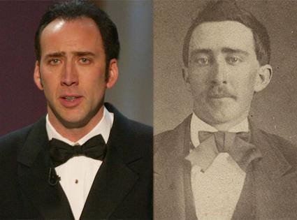 Geçtiğimiz hafta ortaya çıkan bir fotoğraf, Nicolas Cage'in 'ölümsüz bir vampir' olduğu iddialarını ortaya atmış ve bu, günlerce konuşulmuştu.   Nicolas Cage'e çok benzeyen bir Amerikalının iç savaş sırasında çekilmiş fotoğrafı eBay'de 1 milyon dolar fiyatla satışa sunulmuştu.