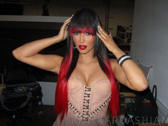 Kim Kardashian'dan kareler.. - 33