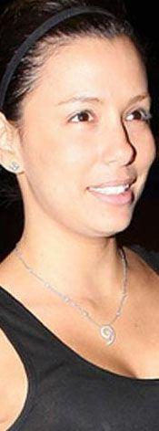 Eva Longoria makyajsız böyle görünüyor.