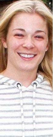 LeAnn Rimes'ın doğal hali.. En büyük özelliği güler yüzü .