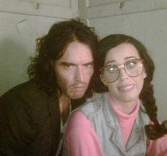 Katy Perry ve Russell Brand.