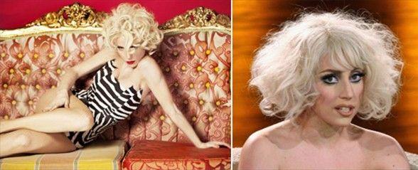 """""""Lady Gaga'ya benzemiyorum. Ona benzetilmek de beni üzmüyor, ama insanlar hep birilerini ona benzetmeye çalışıyor. Ben başkasını taklit edecek kadar amatör değilim. Yaratıcı ekibime farklılık adına para ödüyorum."""""""