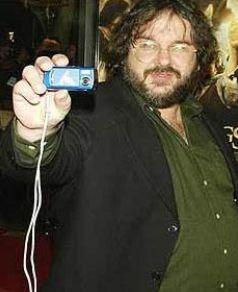 Yüzüklerin Efendisi serisinin yönetmeni Peter Jackson kelimenin tam anlamıyla iri yarı bir adamdı.