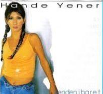 Hande Yener ilk albümünü çıkardığında böyle görünüyordu.