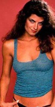 Kirstie Alley de gençlik yıllarında Hollywood standartlarında innecik bir güzeldi.