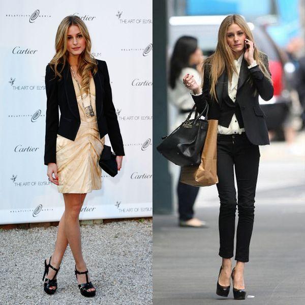 Sade, şık ve klasik tarzını en iyi yansıtan parçalardan biri de tabi ki blazer ceketler. Blazer ceketlerini de çok seviyor ve elbiseleriyle veya bluzlarının üzerine bol bol giyiyor.