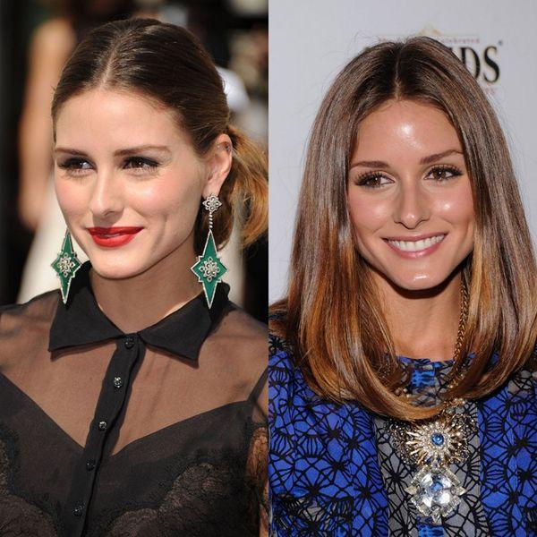 Olivia Palermo'nun en çok göze çarpan stil unsurlarından biri de hiç kuşkusuz aksesuarları. Kocaman ve gösterişli aksesuarlara bayılıyor ve sık sık kullanıyor. Onu özellikle de davetlerde kocaman sallantılı küpelerle veya dev kolyelerle görmek çok olası. Bu kadar şaşanın yanında her daim doğal görünen saçları ve makyajı ise aradaki dengeyi çok iyi kuruyor. Ben şahsen Olivia'nın saç ve makyajına hep hayranım.