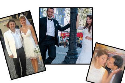 TÜRKİYE DAR GELDİ Gösteri dünyasının ve cemiyet hayatının bazı ünlüleri Türkiye yerine yurtdışındaki konsolosluklarda evlenmeyi tercih etti.   Bazıları sadece bir kaç arkadaşlarının katılımıyla bazıları da ailelerinin de hazır bulunduğu törenlerle Roma, Paris, Milano gibi kentlerde dünyaevine girdi.   İşte yurtdışında evlenen ünlüler.