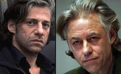 Birol Ünel (solda) ile Bob Geldof kardeş gibiler.
