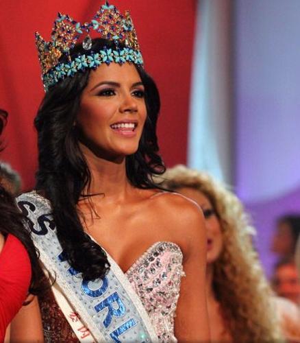 Dünya Güzellik Yarışması'nda bu yıl da 'ezber' bozulmadı. Londra'da yapılan görkemli gecede 'güzellik tacı' yine Venezüella'ya gitti ve 21 yaşındaki   Ivian Lunasol Sarcos Colmenares dünyanın en güzeli seçildi.