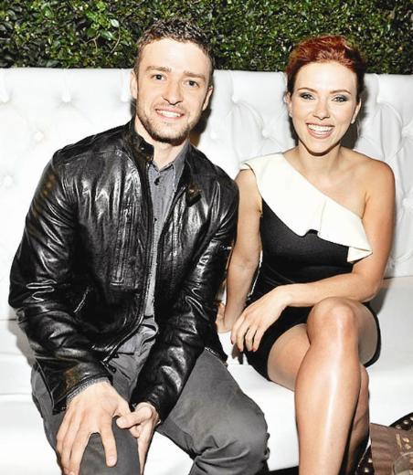 Johansson'ın, Timberlake ve Jessica Biel'in arasına girdiği konuşuluyor.