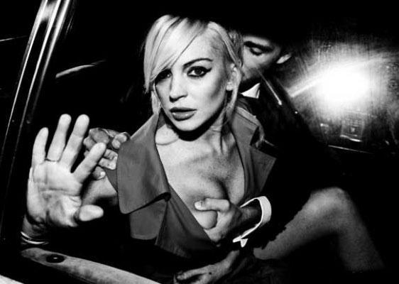 Lindsay Lohan & Spencer Falls, 2011