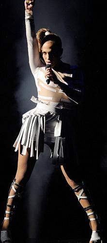 Jennifer Lopez hayranlarını çoşturdu - 9