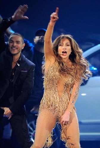 Jennifer Lopez hayranlarını çoşturdu - 16