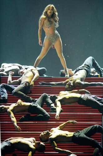 Jennifer Lopez hayranlarını çoşturdu - 19