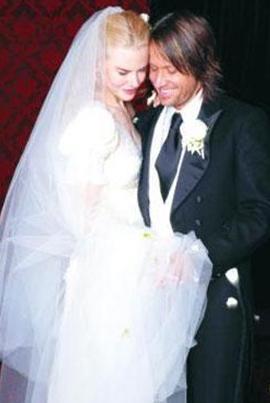 Cruise'un eski eşi Nicole Kidman ise şu anki eşi Keith Urban ile evlendiğinde 39 yaşındaydı.