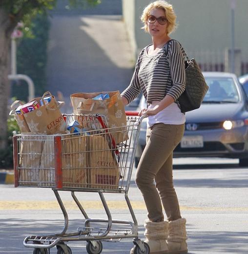 Ama Heigl ve kocası o günün büyük bir bölümünü markette alışveriş yaparak geçirdi.
