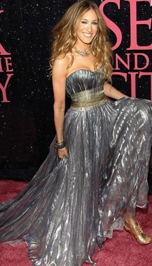 Sarah Jessica Parker, kırmızı halıda bir stil ikonu.