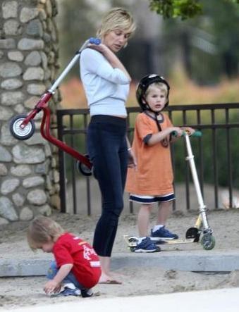 Aynı zamanda çok iyi bir anne olarak da.