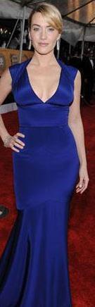 Kate Winslet kırmızı halıda.